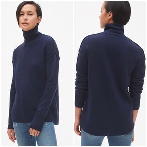 Gap Brushed Turtleneck Pullover Sweater NWT